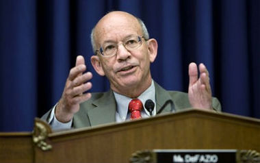 May 6, 2008 file photo. Rep. Peter DeFazio. (AP Photo/J. Scott Applewhite, file)