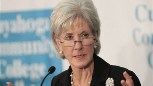 File photo - U.S. Health and Human Services Secretary Kathleen Sebelius (AP Photo/Tony Dejak, File)