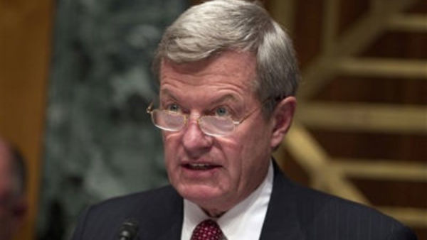 Senate Finance Committee Chairman Sen. Max Baucus, D-Mont.(AP Photo/Evan Vucci)