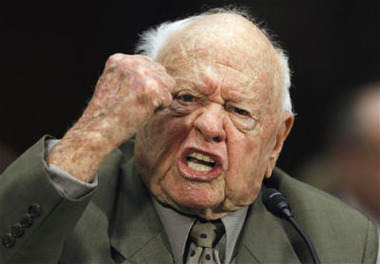 Actor Mickey Rooney testifies on Capitol Hill about elder abuse (Alex Brandon/AP Photo)