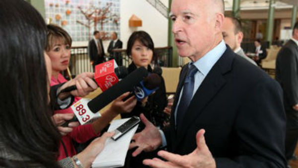 California Gov. Jerry Brown (AP Photo/Rich Pedroncelli)