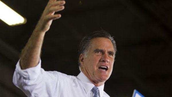 Former Massachusetts Gov. Mitt Romney Tuesday, June 12, 2012, in Orlando, Fla. (AP Photo/Evan Vucci)