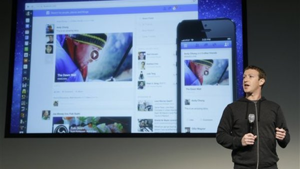 Facebook CEO Mark Zuckerberg speaks at Facebook headquarters in Menlo Park, Calif., Thursday, March 7, 2013. (AP Photo).