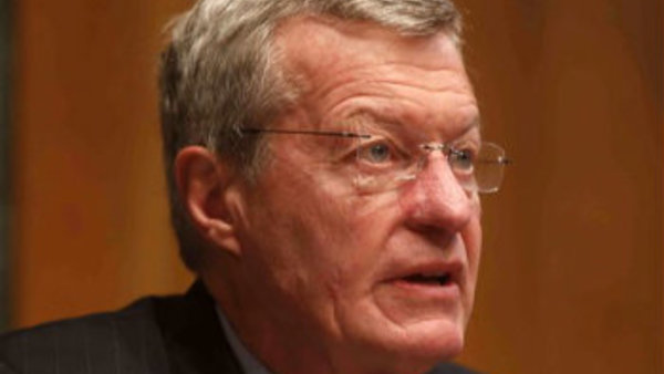 Senate Finance Committee Chairman Sen. Max Baucus, D-Mont. (AP Photo/Charles Dharapak)