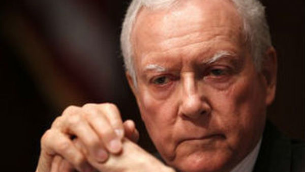 Sen. Orrin Hatch, R-Utah. Photo: Associated Press/Charles Dharapak