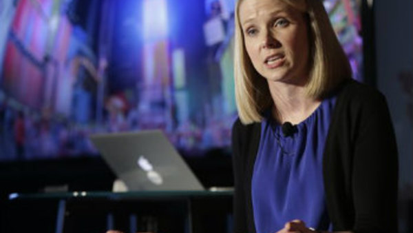 Yahoo CEO Marissa Mayer. (AP Photo/Frank Franklin II)