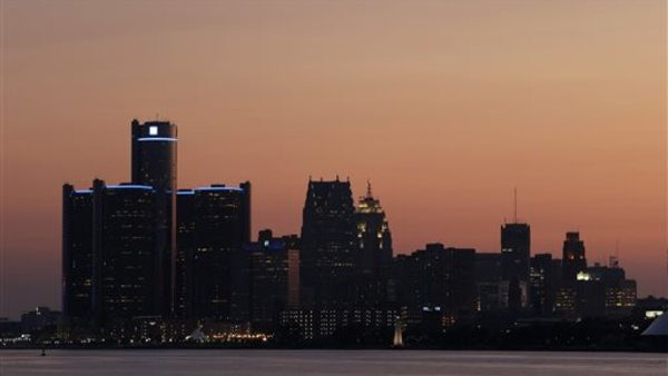 Detroit's skyline. Photo: AP