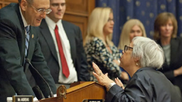 Phyllis Borzi appearing before Congress in 2011.