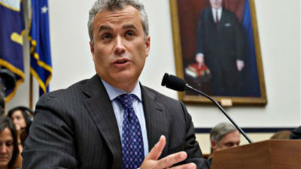 Jeffrey Zients testifies on Capitol Hill in Washington in August 2012. (AP Photo/J. Scott Applewhite, File)