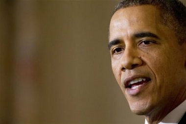 """Obama in 2009: """"If you like your health plan, you will be able to keep your health plan."""" (AP Photo/Jacquelyn Martin, File)"""