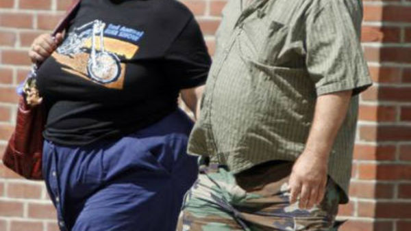 Obesity rates are back on the rise this year. Photo: Toby Talbot/Associated Press