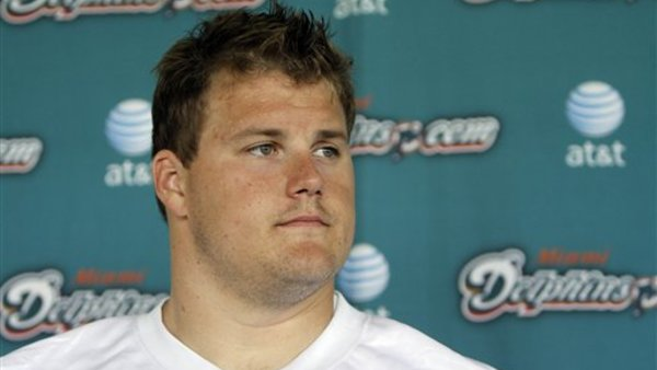 Richie Incognito reportedly was involved in an incident at a Miami hotel. (Photo: AP)