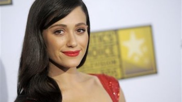 Emmy Rossum. (Photo by Chris Pizzello/Invision/AP)