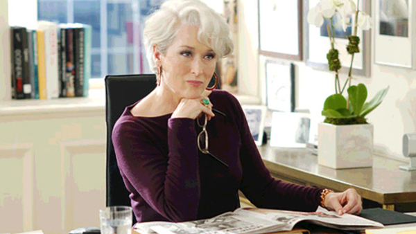 Meryl Streep played a notoriously difficult magazine editor in 2006's