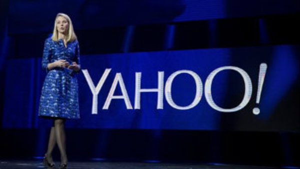 Yahoo president and CEO Marissa Mayer speaks during a keynote address at the International Consumer Electronics Show, Tuesday, Jan. 7, 2014, in Las Vegas. (AP Photo/Julie Jacobson)