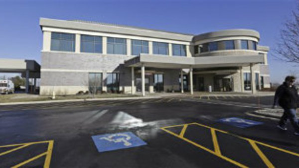 This Jan. 9, 2013 photo shows the Silver Cross Emergency Care Center in Homer Glen, Ill. (AP Photo/M. Spencer Green)