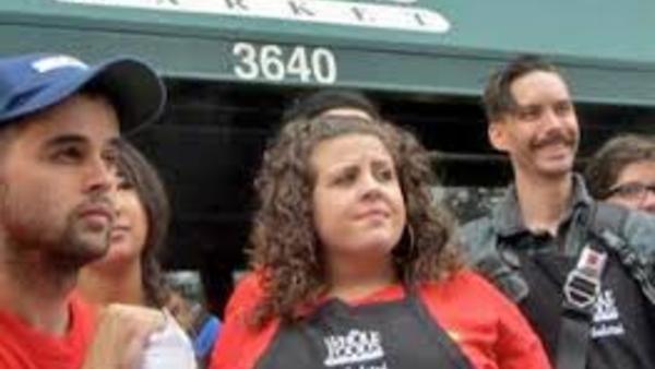 Fired Whole Foods worker Rhiannon Broschat. (Photo: Socialistworker.org)