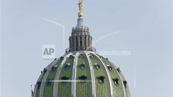 Pennsylvania state capiol building (AP Images)