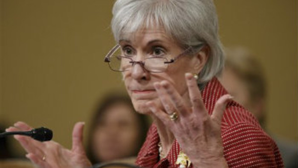 Health and Human Services Secretary Kathleen Sebelius. (AP Photo/J. Scott Applewhite)
