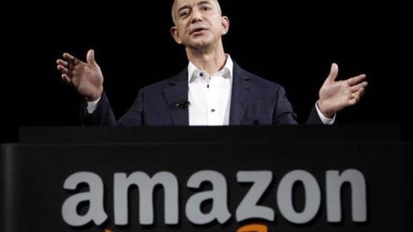Amazon founder and CEO Jeff Bezos. (AP Photo/Reed Saxon, File)