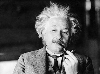 Albert Einstein, theoretical physics extraordinaire. (Photo: AP)