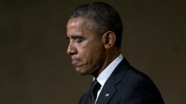 President Barack Obama pauses as he speaks at the National September 11 Memorial Museum, Thursday, May 15, 2014, in New York. (AP Photo/Carolyn Kaster)