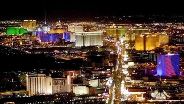 Las Vegas, a city in one of the