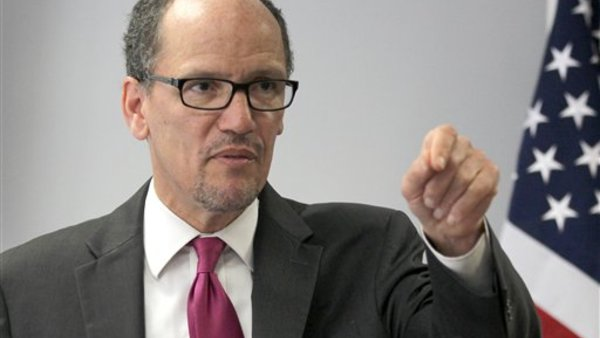 Labor Secretary Thomas Perez (AP Photo/Connor Radnovich)