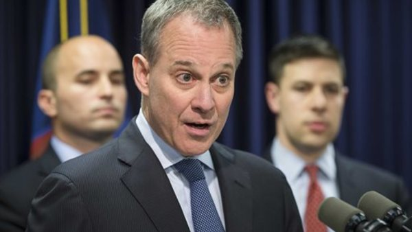 New York state's Attorney General Eric Schneiderman. Photo: AP