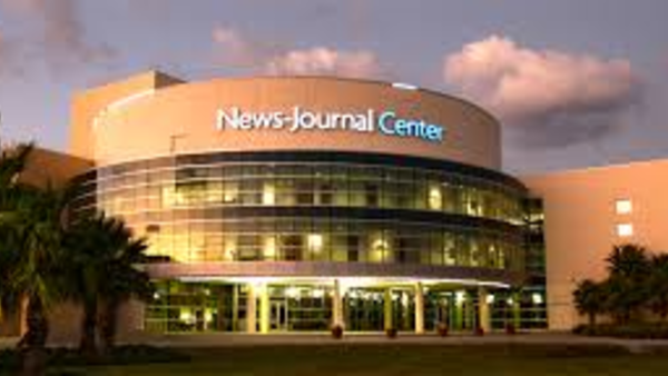 The former News-Journal Center in Daytona Beach, Florida.