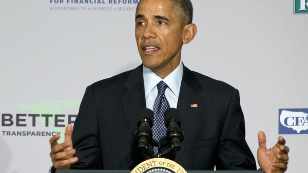 President Obama endorsed the DOL's fiduciary standard at an event at the AARP in Washington, D.C., Monday. Photo: Jacquelyn Martin, AP.