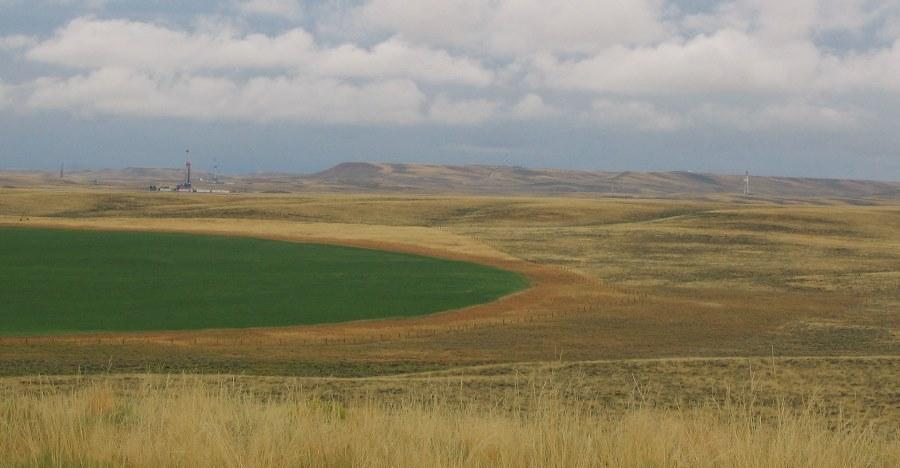 Landscape near Pinedale, Wyoming