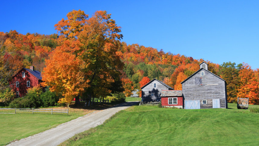 Vermont farm scene (Photo: Getty)