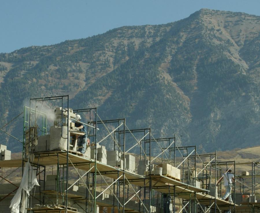 Construction in Orem, UT (photo: AP)