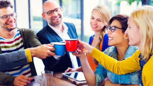 One important topic often neglected by wellness programs? Social connectedness. Photo: Getty Images