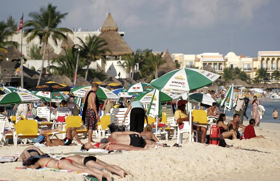 Beach at Playa del Carmen, Mexico (Photo: AP)