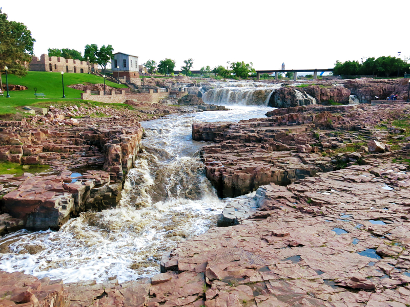 Falls Park in Sioux Falls