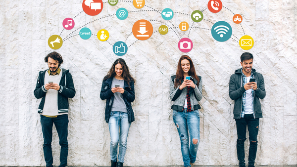 Millennial employees aren't eschewing their favorite apps while on the job, and that can mean lost productivity and hours. (Photo: iStock)