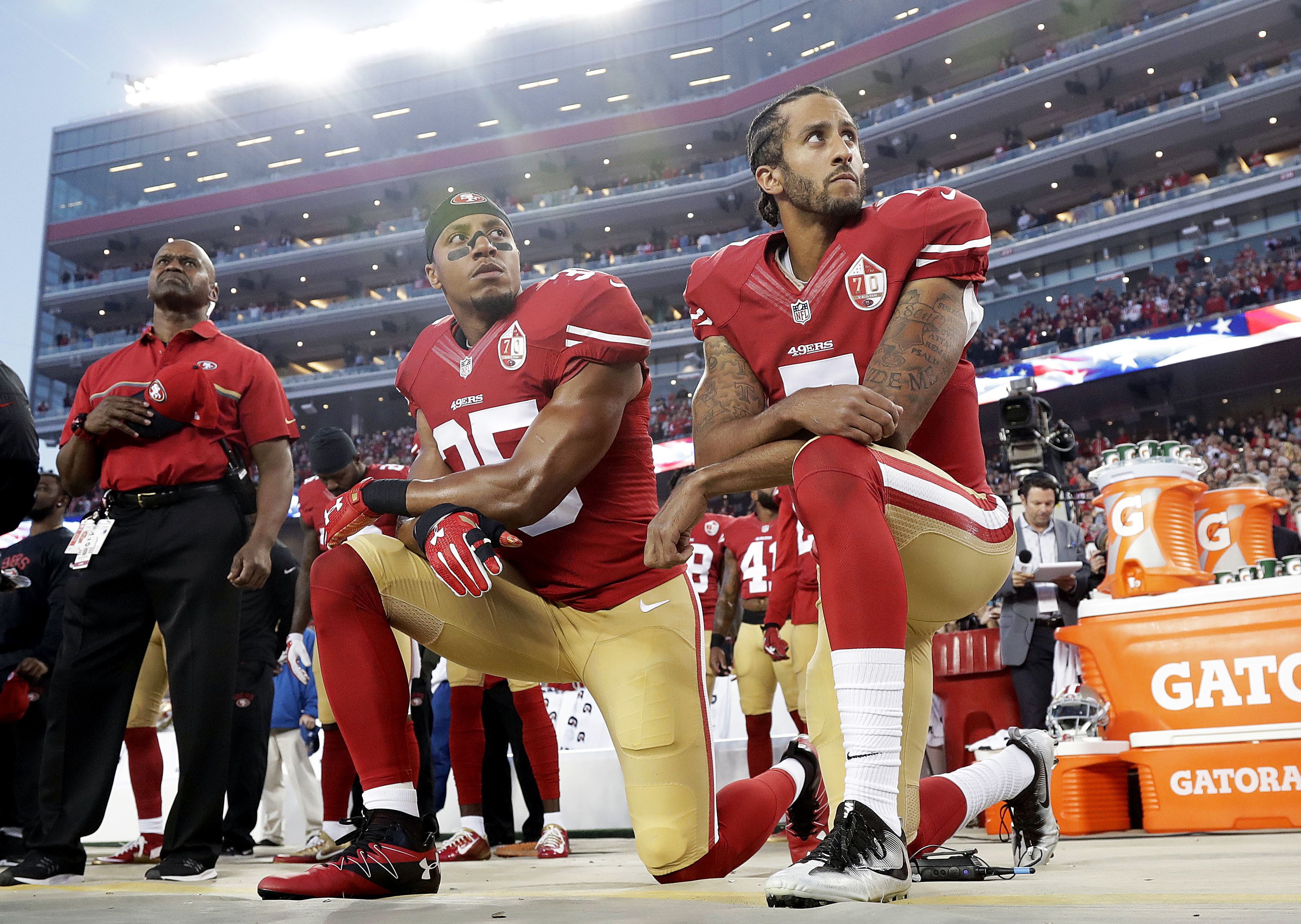 Can Colin Kaepernick (or you) get fired for a political