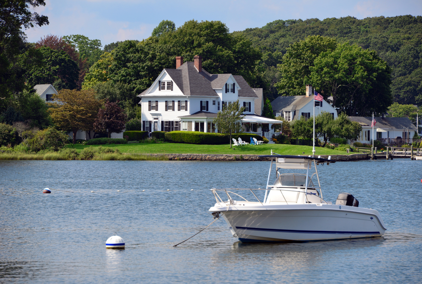 Connecticut waterfront home