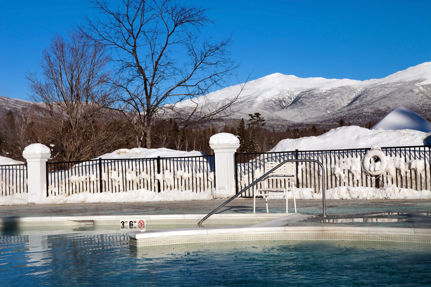 New Hampshire pool and spa