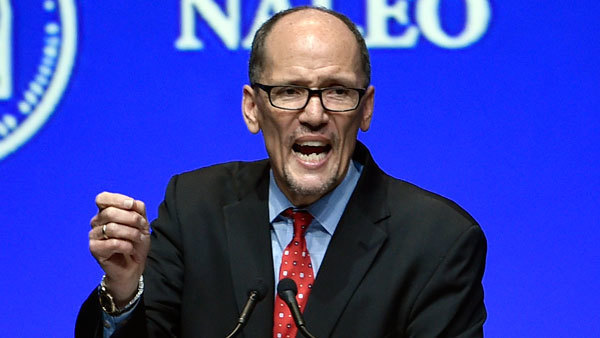 The experts suggest Labor Secretary Tom Perez's fiduciary rule will be in play under a President Trump. (Photo: AP)