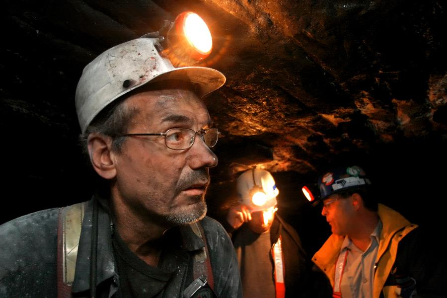 Coal miners' health care and pensions were threatened. (Photo: AP)