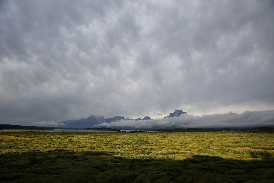Some areas in Wyoming are attractive to retirees, such as Jackson, near Grand Teton National Park. (Photo: AP)