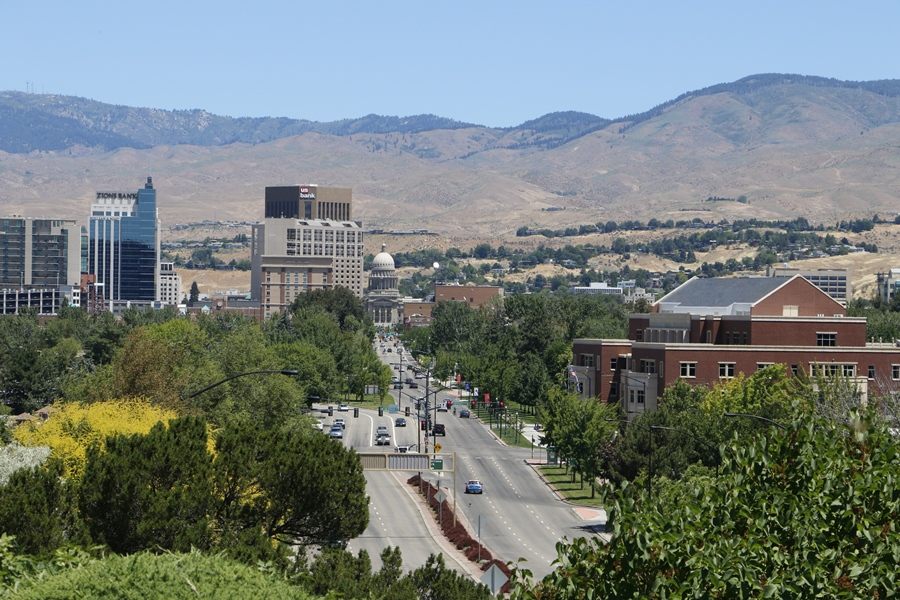 Many retirees and people relocating to Idaho, and Boise, here, find its cost of living decent. (Photo: AP)