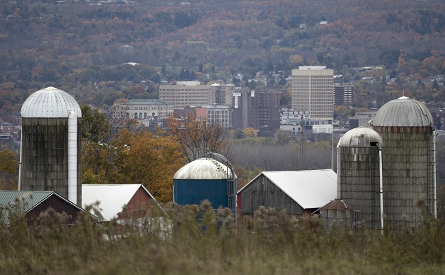 New York saw an outflow of retirees, even from such areas as near Utica. (Photo: AP)
