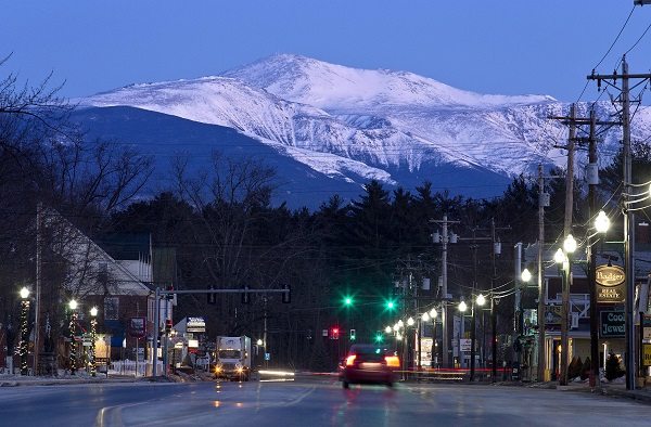 Retiree arrivals to New Hampshire were nearly the same number as the retirees who left. Maybe they were the same people, who turned right around when they saw snow. (Photo: AP)