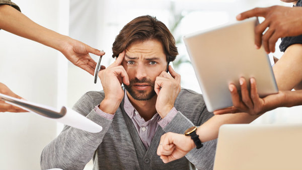 The World Health Organization estimates that stress costs American businesses up to $300 billion annually. (Photo: iStock)
