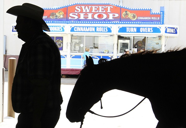 Oklahoma City, where the state fair is held every year, has a large number of older workers. (Photo: AP)