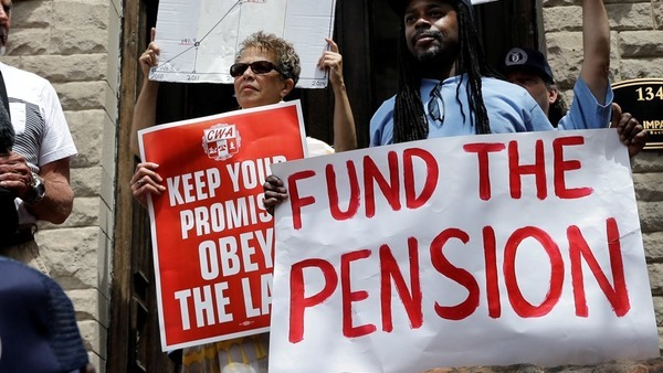 With pension plans, it is legally permissible to hide risk by promising benefits that aren't fully funded. (Photo: AP)